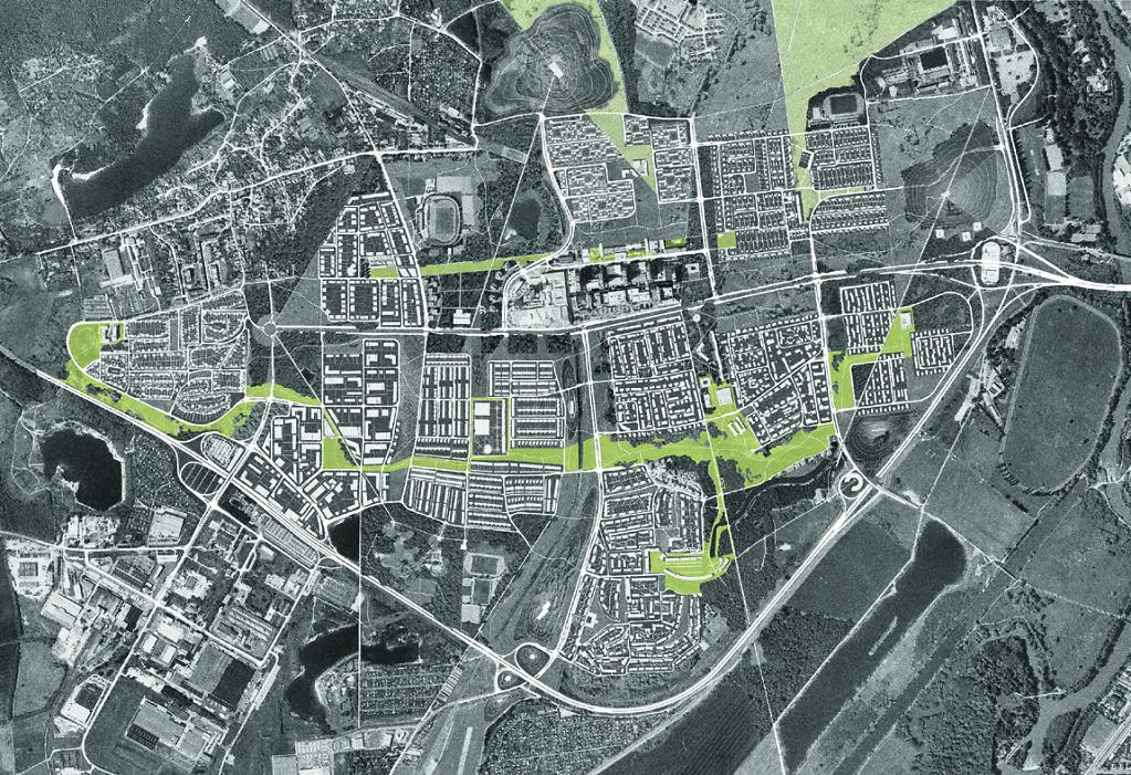 Halle Neustadt Stadtumbau Studie