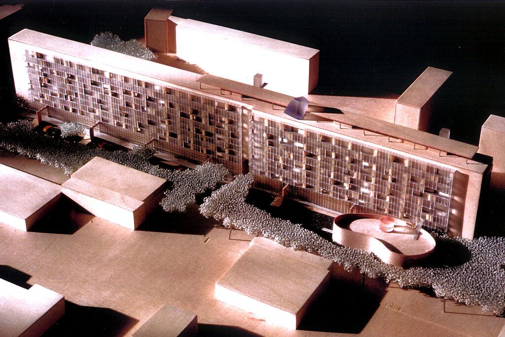 Hoyerswerda Umbau Schillhochhaus