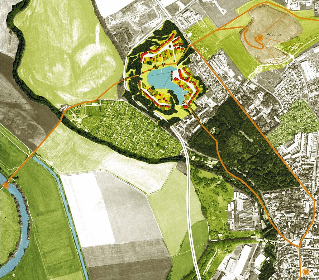 Großparkplatz   Rahmenplan