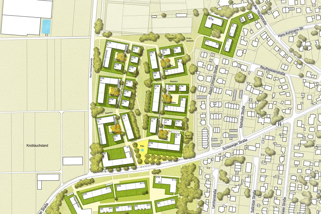 Nürnberg Schnepfenreuth Rahmenplan