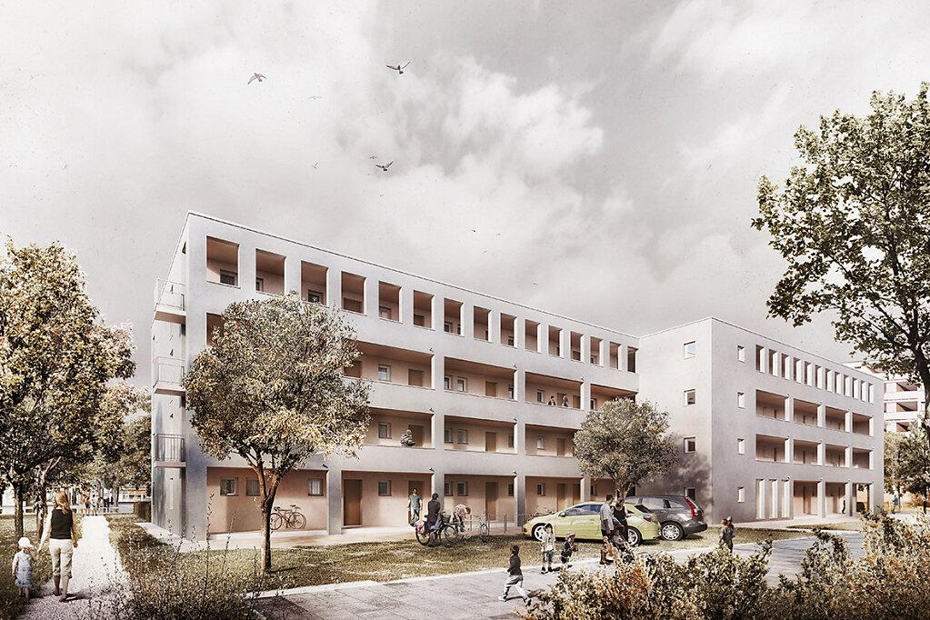 Nürnberg Geförderter Wohnungsbau 2019
